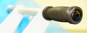 Фото поролоновой ручки на передвижной каретки профилактора Евминова